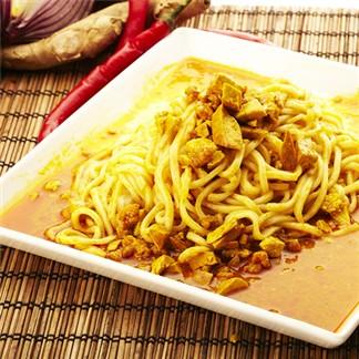 *花蓮家咖哩--南洋咖哩乾拌麵醬六包組(甘味、120G)