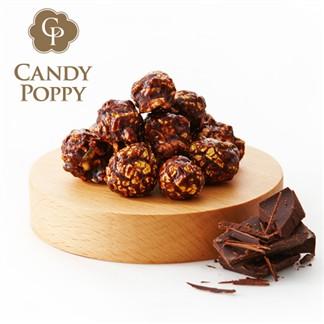 Candypoppy 糖果波比-裹糖爆米花(巧克力、70g)