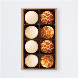 【陳允寶泉】小二味禮盒(小月餅4+蛋黃酥4)
