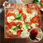 * 任選$788結帳【披薩市】單人獨享經典瑪格麗特披薩口味5吋(素)