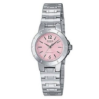 【CASIO】淑女時尚精緻腕錶-粉面(LTP-1177A-4A1)