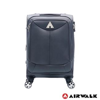 AIRWALK - 尊爵系列布面拉鍊20吋行李箱-灰色