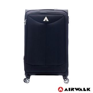 AIRWALK - 尊爵系列布面拉鍊28吋行李箱-黑色