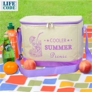 【LIFECODE】COOLER 飲料保冰袋(10L)-2色可選