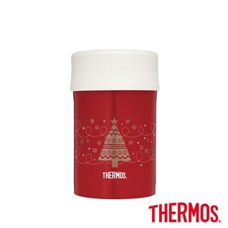 THERMOS 膳魔師 真空食物燜燒罐0.5L(JBN-500-RT)聖誕節限定