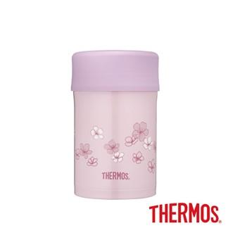 THERMOS膳魔師不鏽鋼真空食物燜燒罐0.5L(JBN-500-PF)櫻花粉
