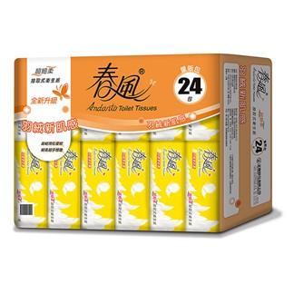 【春風】超細柔抽取式衛生紙110抽24包x3串*