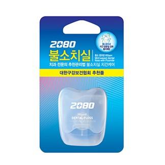 【韓國2080】寬扁線含氟防蛀潔牙線40M