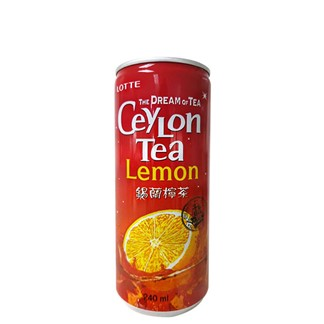 [LOTTE樂天]錫蘭檸檬紅茶 240ml