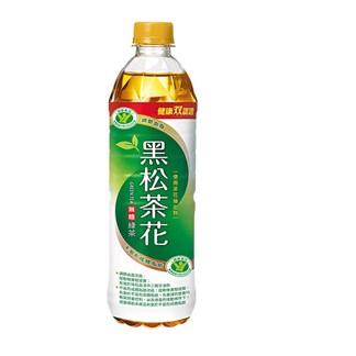 【超商取貨】黑松茶花綠茶-無糖580ml(24入)