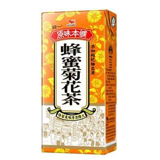 【超商取貨】[統一]原味本舖蜂蜜菊花茶375ml (24入)