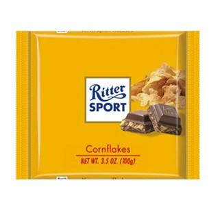 *Ritter Sport 玉米片牛奶巧克力100g