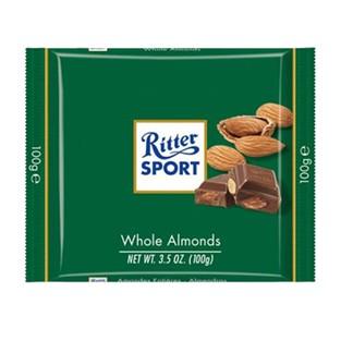 *Ritter Sport 全杏巧克力100g