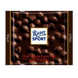 *Ritter Sport 榛果黑巧克力100g