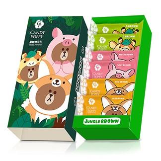 LINE叢林熊大爆米花禮盒