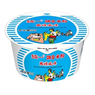 統一調合米粉 肉燥風味 碗麵64g (12入)