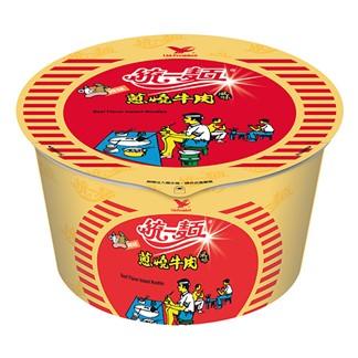 統一麵 蔥燒牛肉風味碗麵90g(12入)