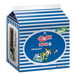 統一麵 鮮蝦風味袋麵 83g(5入)