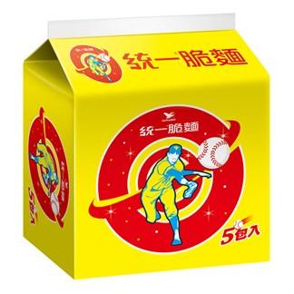 統一脆麵 (五合一) 55g