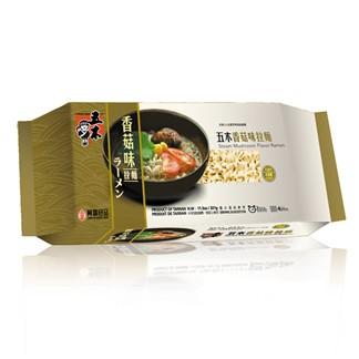 五木 香菇味拉麵 321g (素)