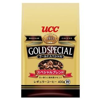 [UCC]金質精選研磨咖啡粉400g