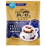 [鮮一杯]濾掛咖啡法式重烘焙11g(12入)