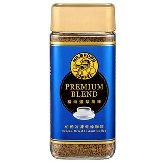 伯朗精緻濃萃風味即溶咖啡100克