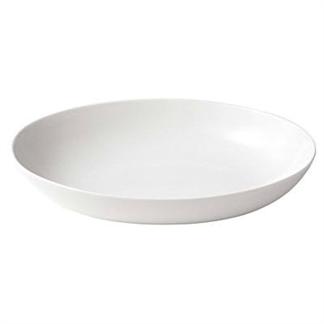 [MUJI 無印良品] 米白瓷義大利麵用盤