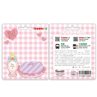HELLO KITTY - PINK HEART icash2.0(含運費)